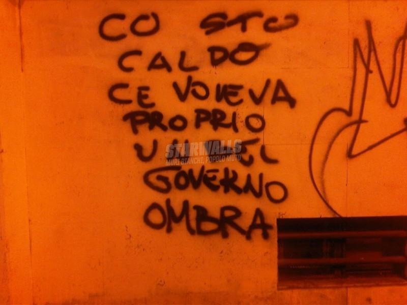 Scritte sui Muri Politici fresconi