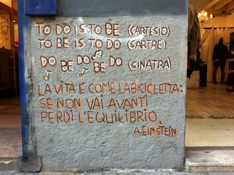 Scritte sui Muri 4 menti a confronto