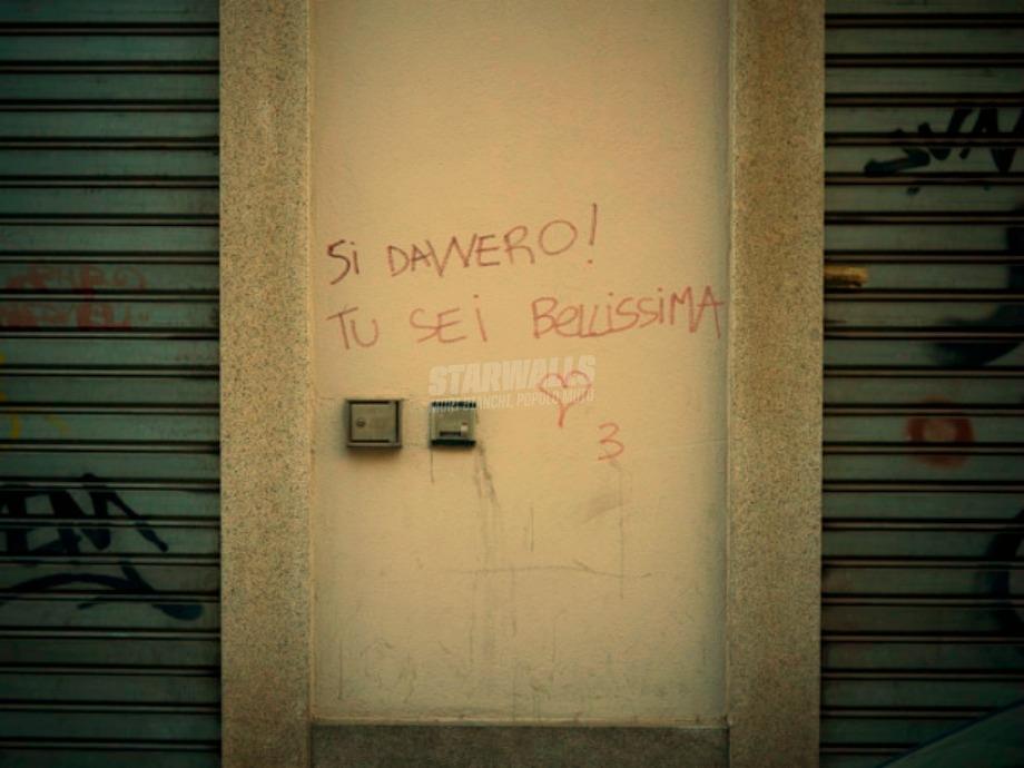 Scritte sui Muri Davvero?