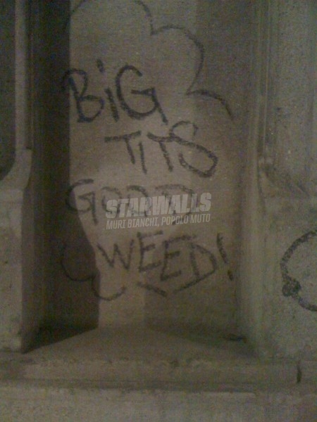 Scritte sui Muri La carne e l'erba