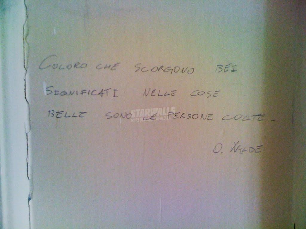 Scritte sui Muri Il bello nel bello