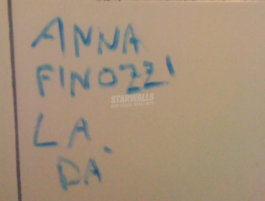 Scritte sui Muri Nomi e cognomi