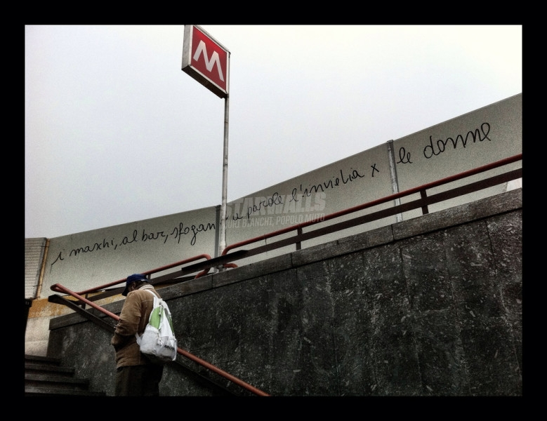 Scritte sui Muri Uomini che odiano le donne