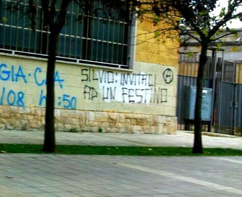 Scritte sui Muri Bunga Bunga per tutti