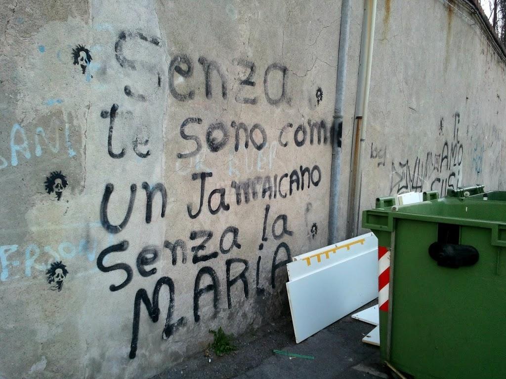 Scritte sui Muri Astinenza