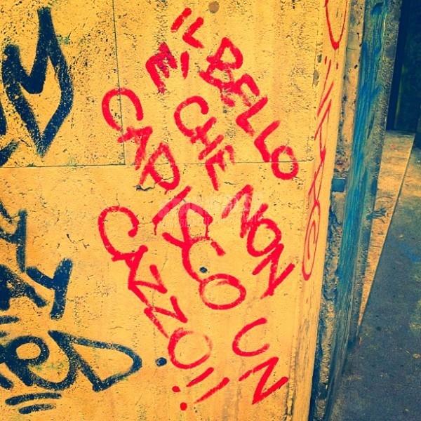 Scritte sui Muri Ammettere i propri limiti