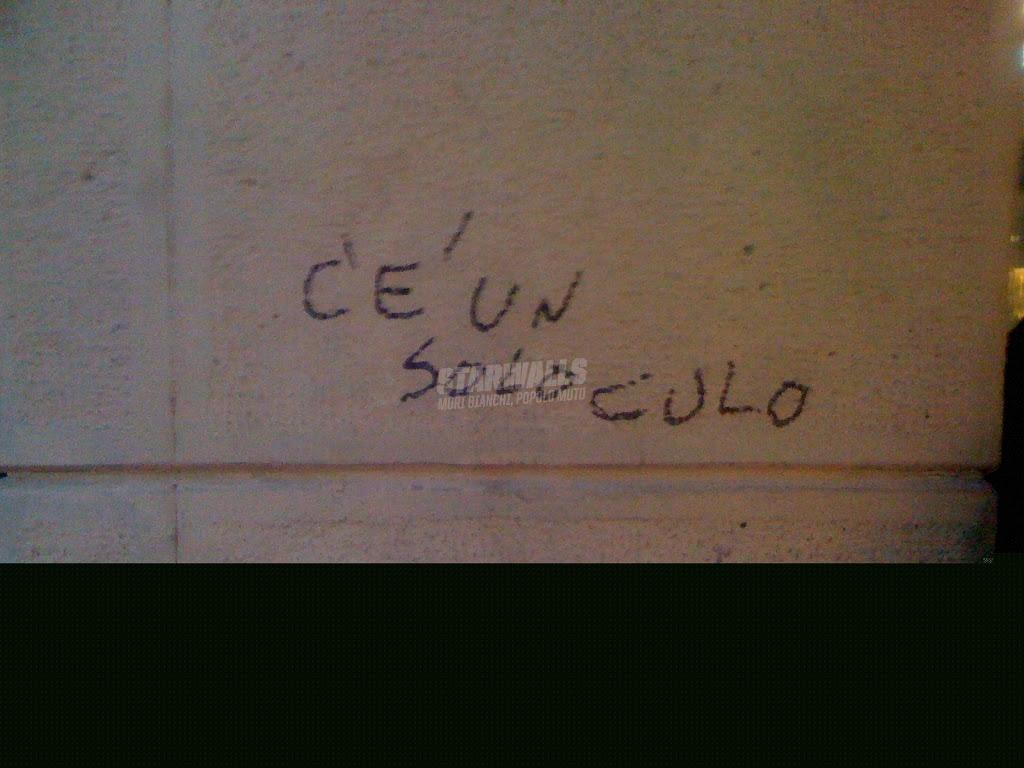 Scritte sui Muri Giusto per chiarire