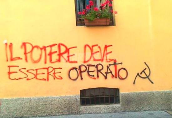 Scritte sui Muri La classe operaia va in paradosso