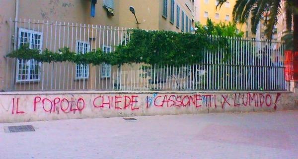 Scritte sui Muri Libertà di differenziare