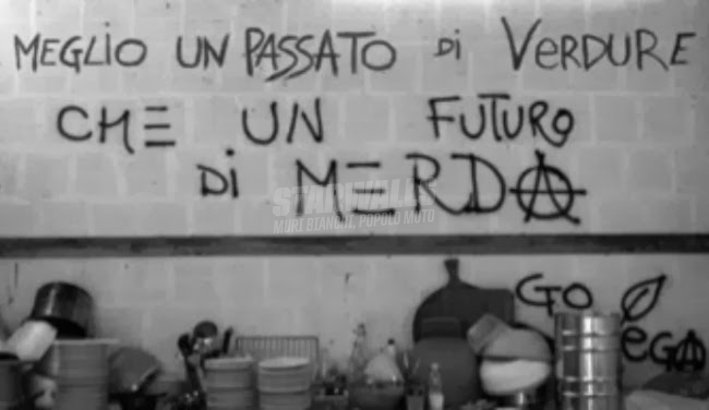 Scritte sui Muri Vegan power