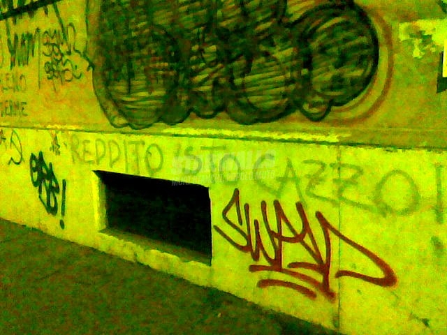 Scritte sui Muri La crisi c'è