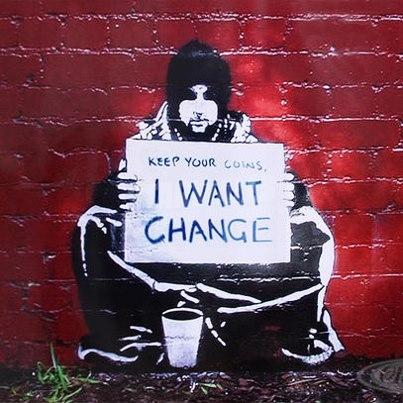 Scritte sui Muri #Change
