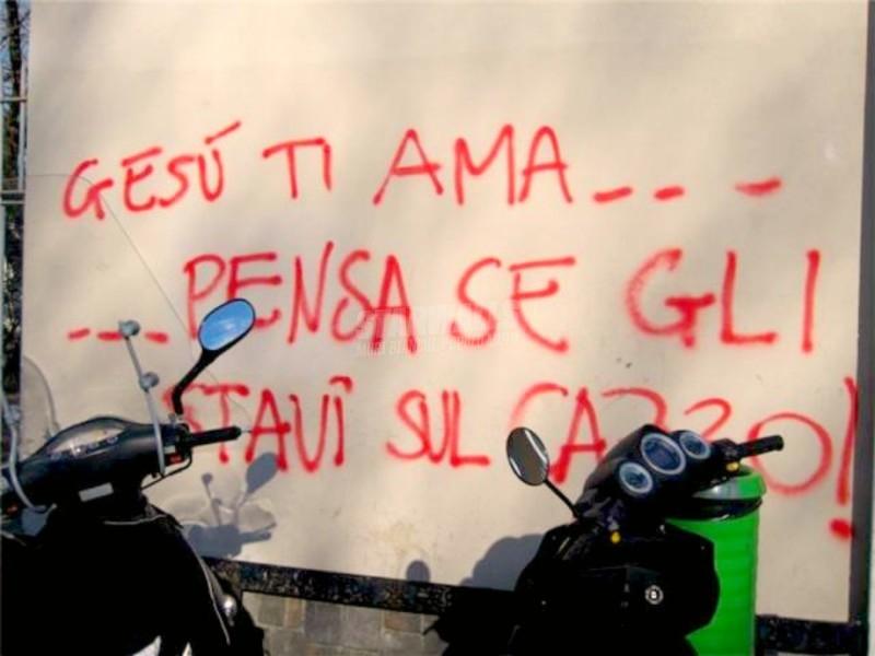 Scritte sui Muri You belong to Jesus