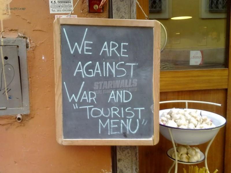 Scritte sui Muri Peace & Food