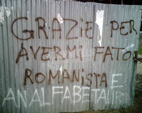Scritte sui Muri Beata ignoranza