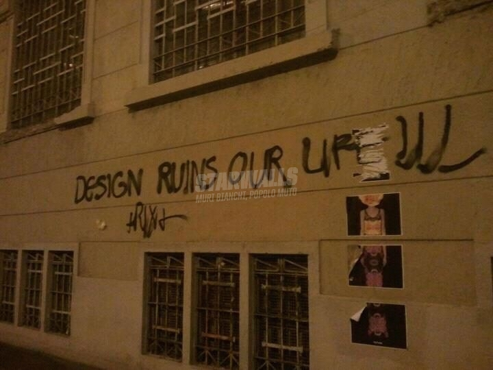 Scritte sui Muri Design is a crime