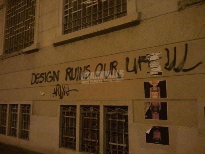 Scritte sui Muri Design is a crime