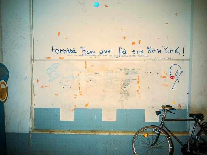 Scritte sui Muri Gangs of ferrara