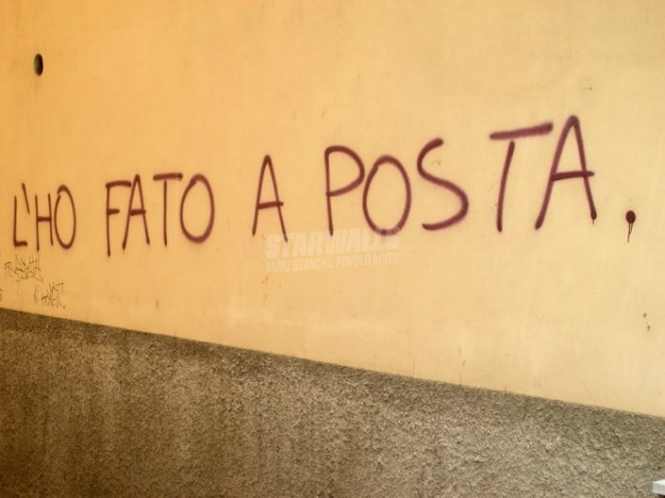 Scritte sui Muri Ma senza volere