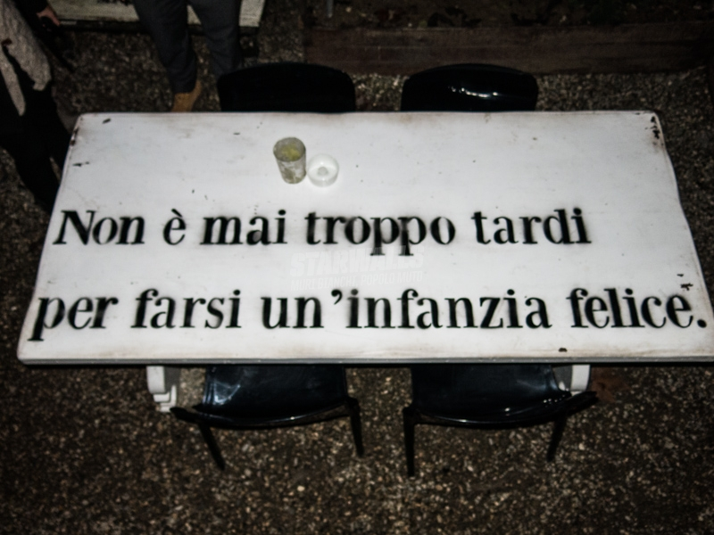 Scritte sui Muri Rinascere in allegria
