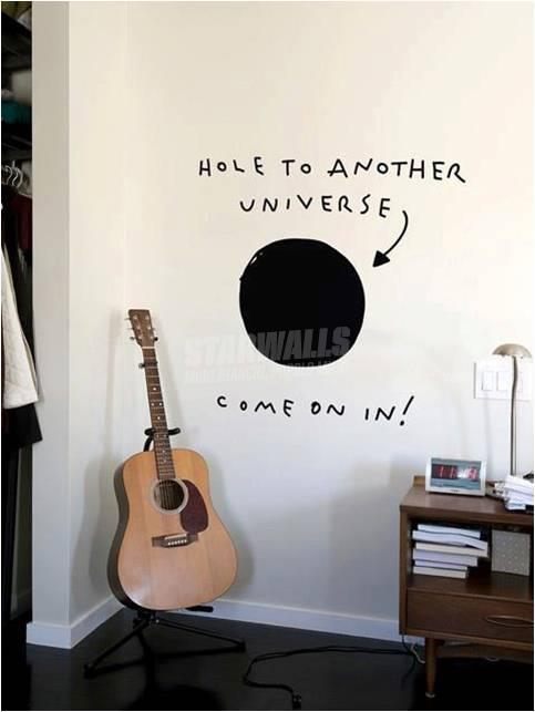 Scritte sui Muri Il buco nero