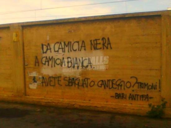 Scritte sui Muri Roba di candeggio sbagliato