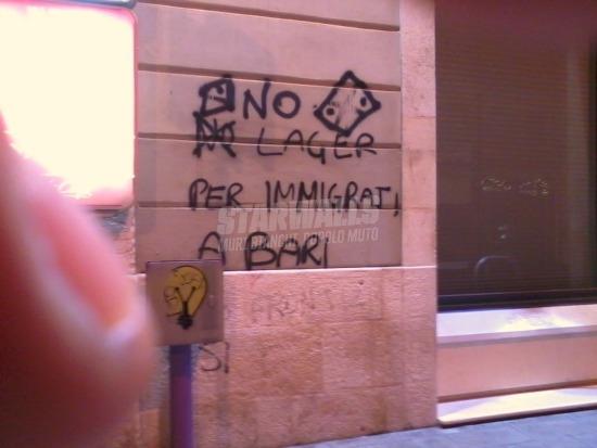 Scritte sui Muri Nessun uomo è illegale