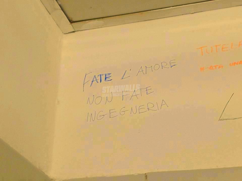Scritte sui Muri Orientamento universitario cap. I