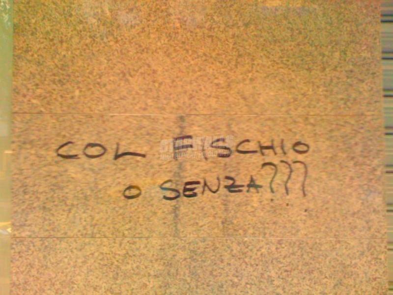 Scritte sui Muri A tua discrezione