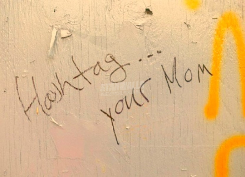 Scritte sui Muri Hashtag