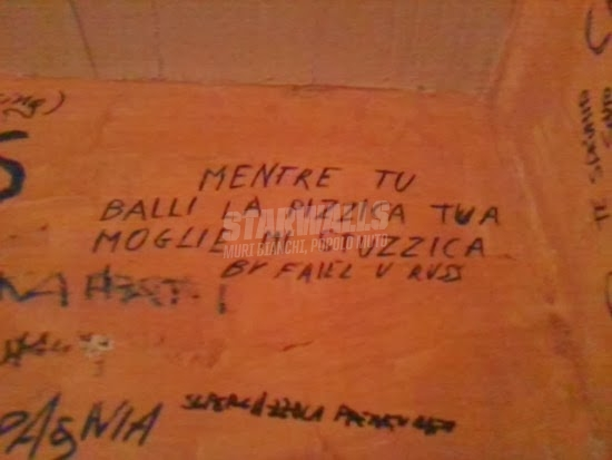 Scritte sui Muri Tarantolata