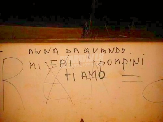 Scritte sui Muri True love