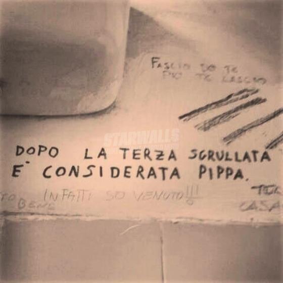 Scritte sui Muri Mani agitate