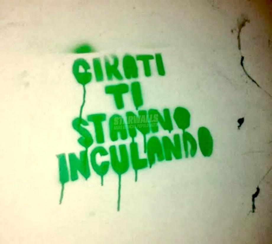 Scritte sui Muri Sempre all'erta