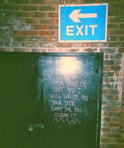 Scritte sui Muri Spietato