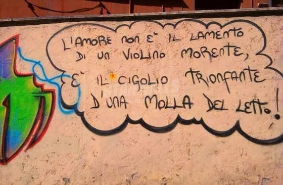 Scritte sui Muri Il suono dell'amore