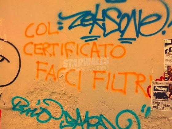 Scritte sui Muri Riciclo
