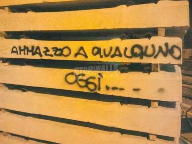 Scritte sui Muri Turbato