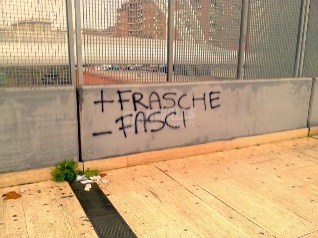 Scritte sui Muri Difendiamo l'ambiente