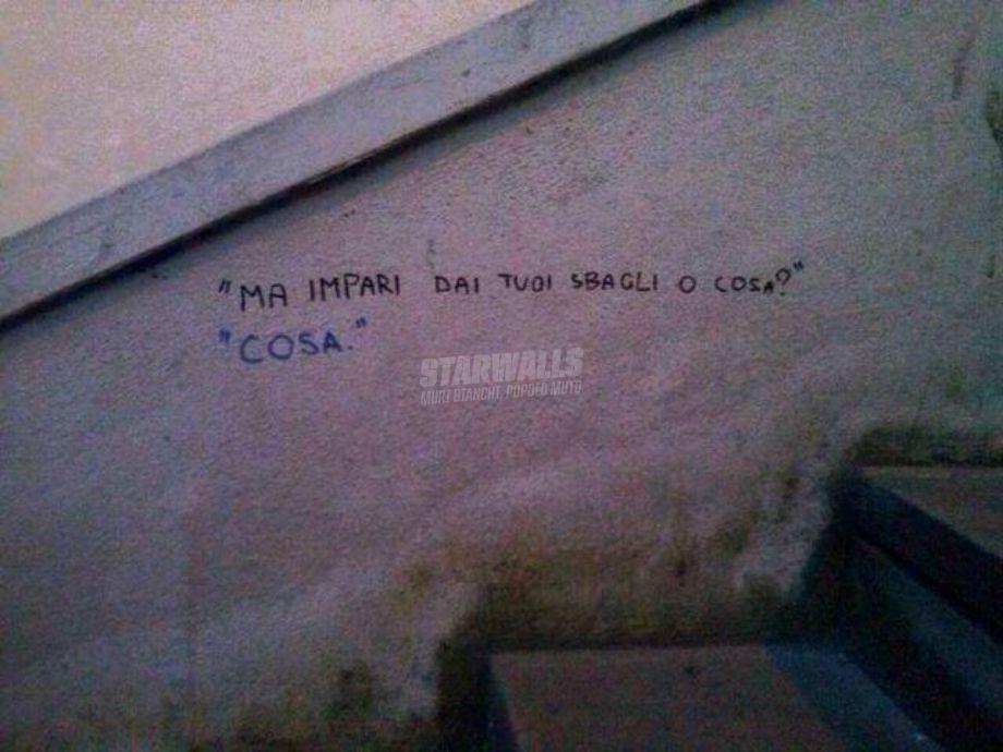 Scritte sui Muri La risposta giusta