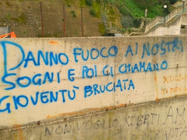 Scritte sui Muri Rebel Without a Cause