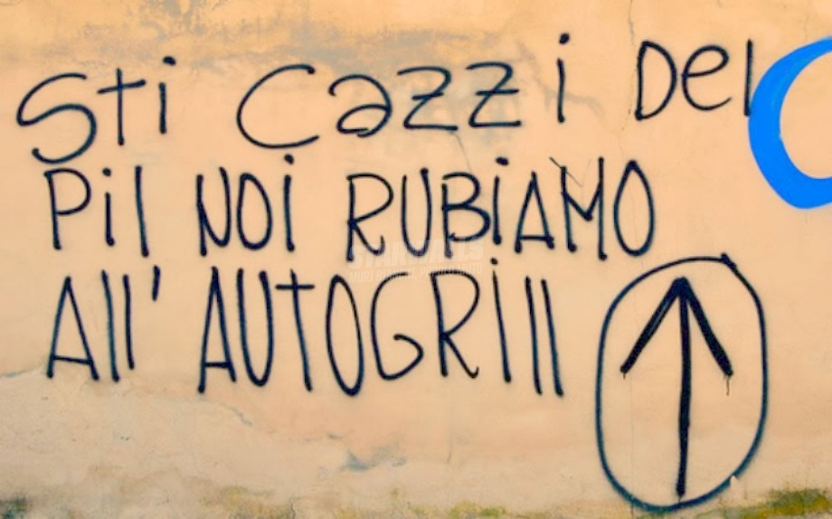 Scritte sui Muri Ci arrangiamo