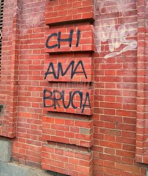 Scritte sui Muri Focoso