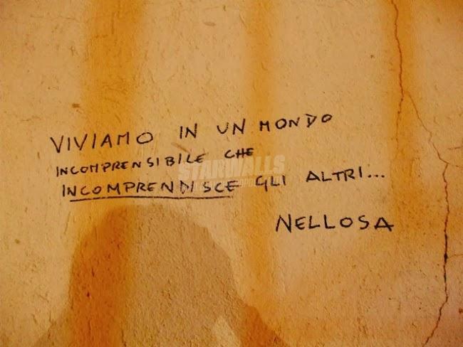 Scritte sui Muri Incomprensione