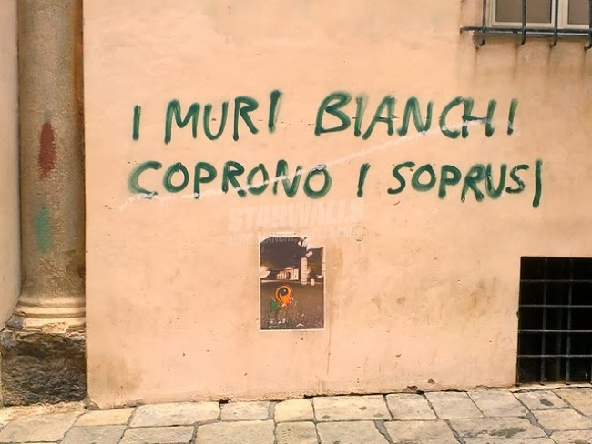 Scritte sui Muri Ingiusti