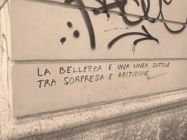 Scritte sui Muri La belleza es tu cabeza
