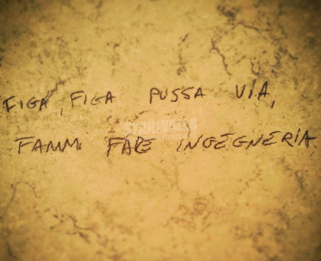 Scritte sui Muri Niente distrazioni