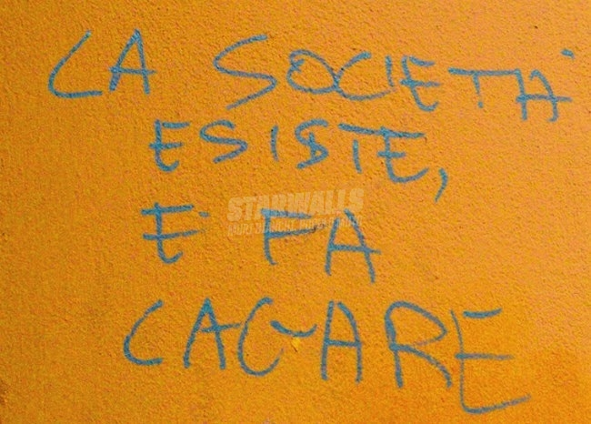 Scritte sui Muri Prendi nota