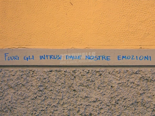 Scritte sui Muri Sció