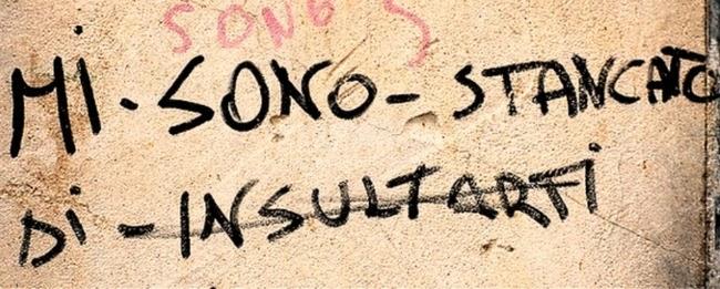 Scritte sui Muri Sfinito